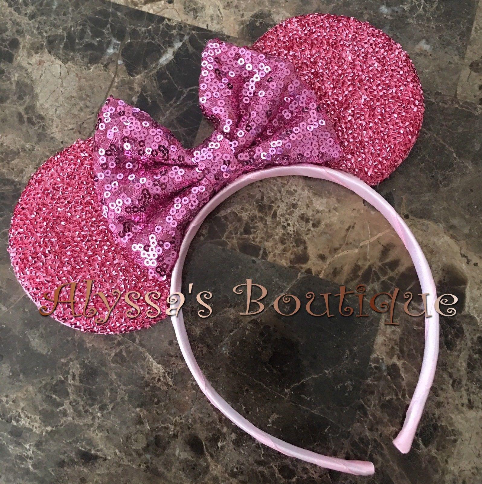 New Pink Sequin Headband