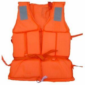 Adults Float Life Jacket Premium Neoprene Vest Jacket Water Ski Wakeboard