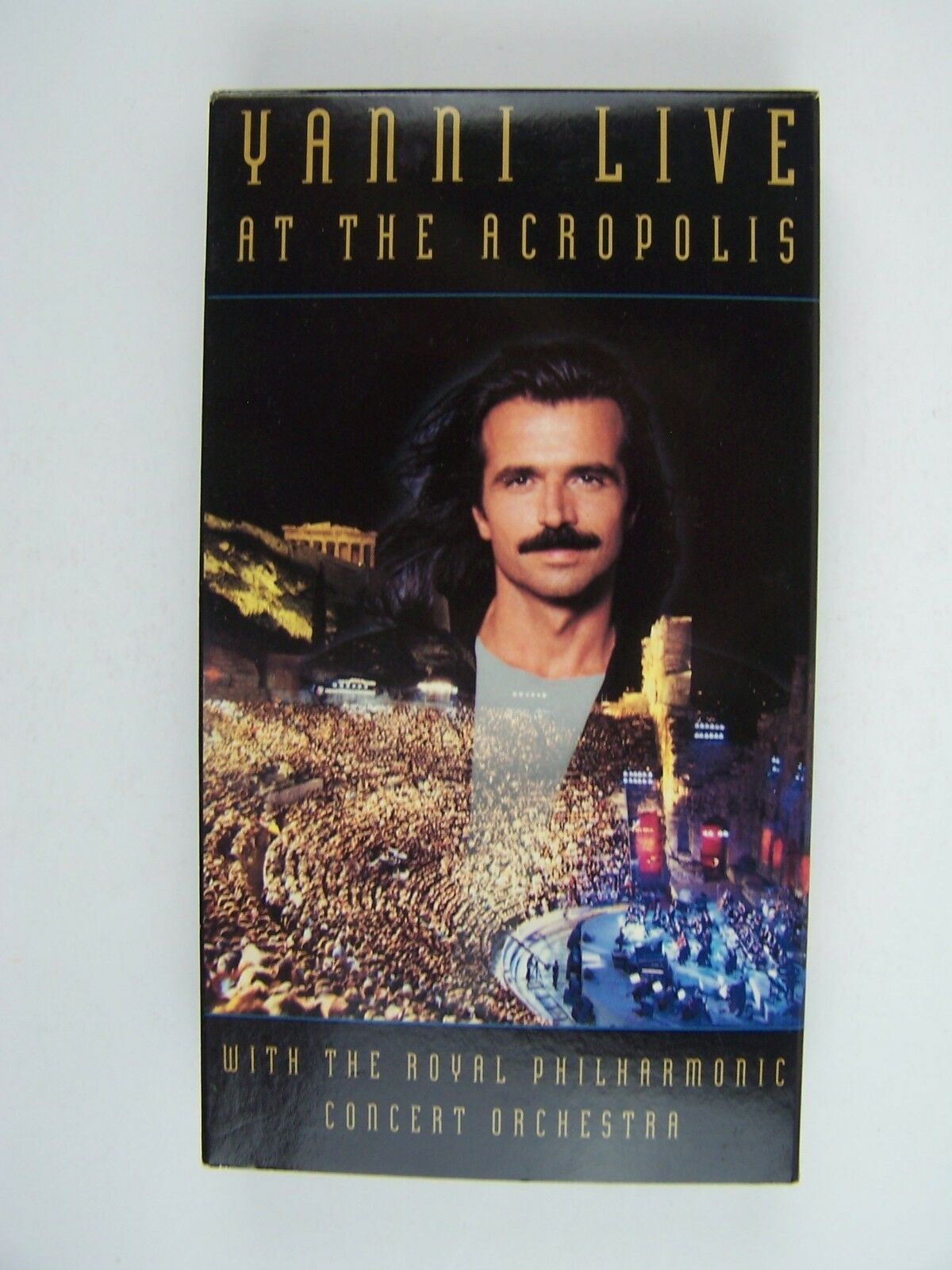 Yanni Live at the Acropolis VHS Video Tape
