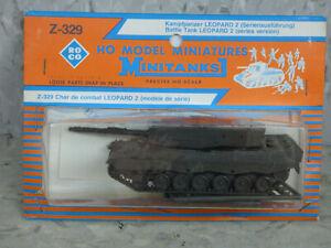 Roco-Minitanks-NEW-1-87-Modern-West-German-Leopard-2-Medium-Tank-Lot-2995K