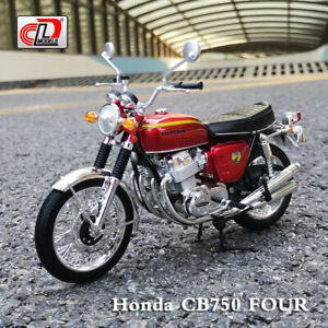 LCD MODEL AOSHIMA 1:12 Scale Honda DREAM CB750 FOUR Motorcycle Diecast Model Toy