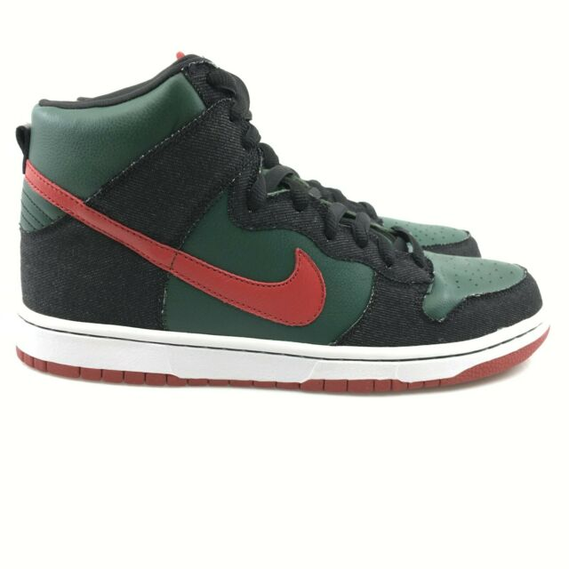 brand new d01ed cb711 Nike SB Dunk High Premium Resn Sz 10.5 Forest Green 2009