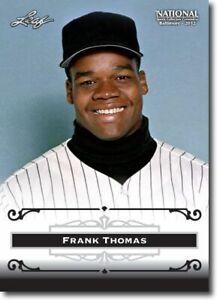 50) FRANK THOMAS - 2012 Leaf National PROMOTIONAL Card LOT