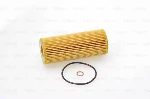 1x Bosch Filtro Olio Bianco di Zinco Elemento P9185 1457429185 [3165143333266]