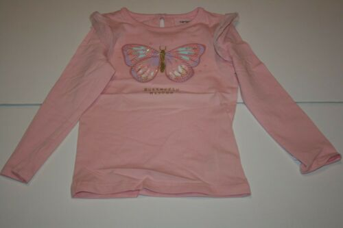 New Carter/'s Girls 3T 4T 5T Top Butterfly Wishes Pink Long Sleeve Tulle /& Sequin