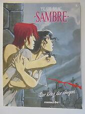 Yslaire Balac - Sambre - Nr. 1  Comicart - 1. Auflage Seiten fest Zustand 3