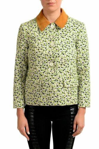 Maison Margiela 4 Multicolor Floral con Botones Mujer Básico Chaqueta US S It 40