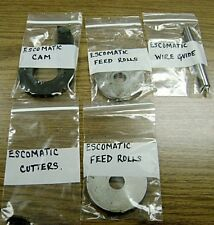 TOOLING FOR ESCOMATIC SWISS SCREW MACHINE FOR JEWELRY EARRING POST MAKING