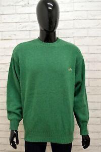 Maglione-Uomo-ENRICO-COVERI-Taglia-Size-L-Felpa-Pullover-Sweater-Man-Lana-Verde