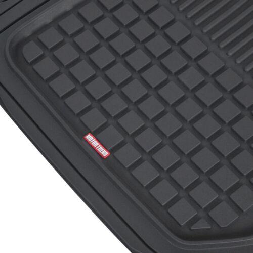 Motor Trend Semi-Custom Car Floor Mats for Toyota for Honda Black