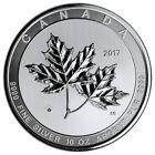 2017 Canada 10 oz Silver Maple Leaves $50 GEM BU SKU46040