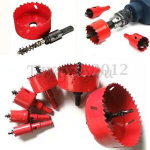16pcs scie cloche drill bit m che cutter wrench pr bois. Black Bedroom Furniture Sets. Home Design Ideas