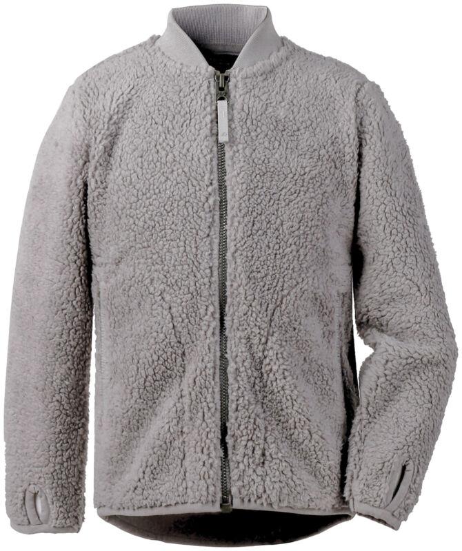 Straightforward Didriksons Fleece Jacket Ohlin Kid's Jacket 2 Grey Breathable Elastic
