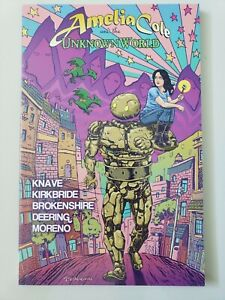 AMELIA-COLE-AND-THE-UNKNOWN-WORLD-TPB-2013-IDW-COMICS-BRAND-NEW-UNREAD