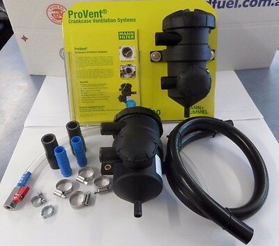 PROVENT 200 CATCH CAN & 19MM FITTING KIT COMPLETE. CATCH TANK