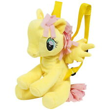 NEW OFFICIAL My Little Pony Fluttershy Kids Plush Soft Backpack / Bag / Rucksack