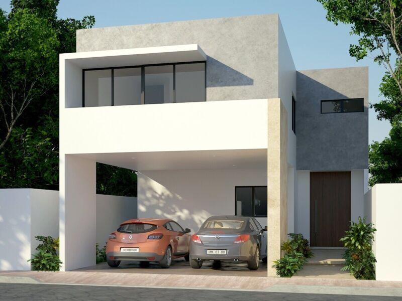 Casa en Conkal.Modelo 243. Zendera.