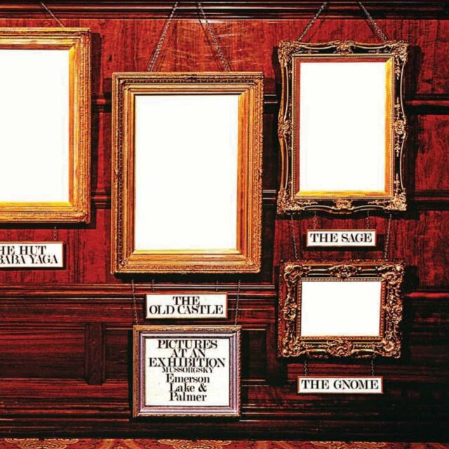 Emerson, Lake & Palmer - Pictures At An Exhibition (NEW 2 x CD)