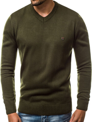 Tricot Pull Col Roulé Chemise Manches Longues Sweats OZONEE Messieurs 9348 mixd