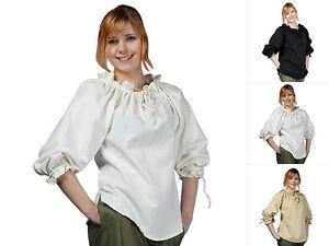 Epic-Armoury-Piratenbluse-Bluse-Hemd-Mittelalterbluse-Mittelalter-Gothic-S-XL