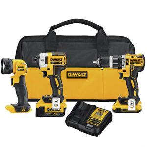 DeWalt-Compact-3-Tool-Combo-Kit-DCK387D1M1R-Reconditioned
