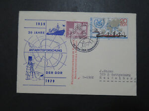 Germany-DDR-1979-JAHRE-20-Antarctic-Cover-Z9559