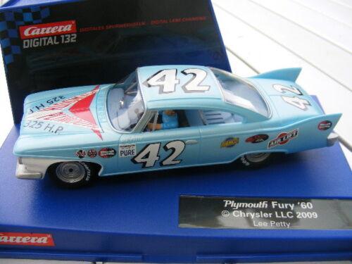 Carrera Digital 132 30493 Plymouth Fury Lee Petty NEU OVP