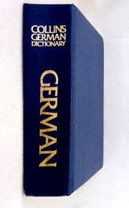 Collins-German-English-Deutsch-Englisch-Dictionary-1991-edition-used-hardcover