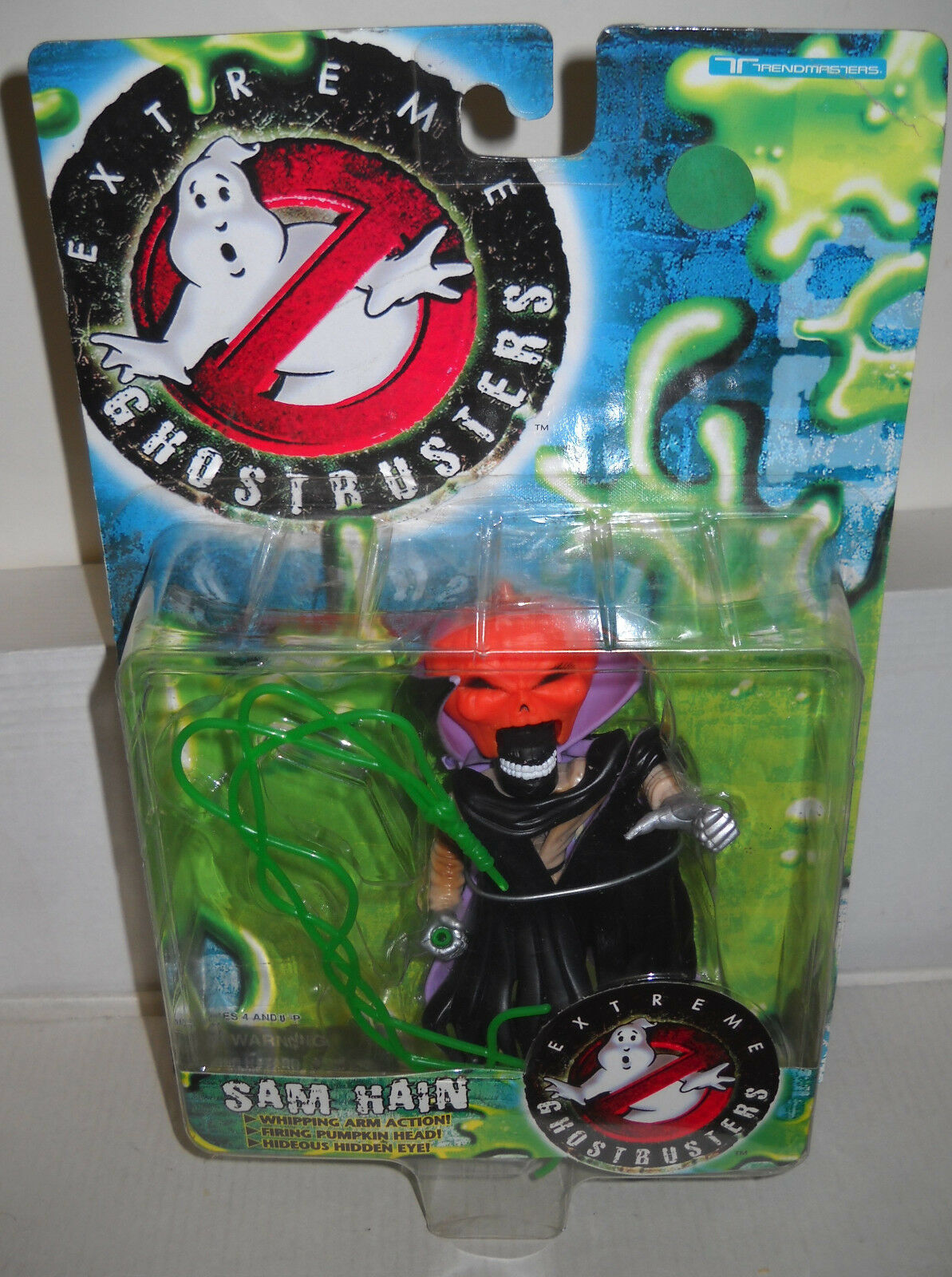 5955 NRFC Trendmasters Extreme Ghostbusters Sam Hain Figure