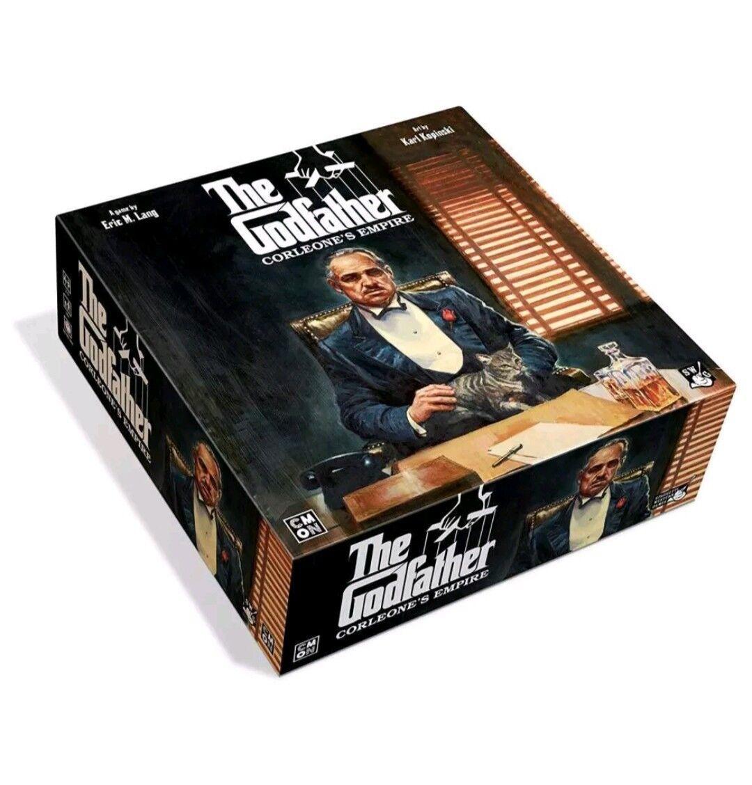 CMON The Godfather  Corleone's Empire Empire Empire Board Game 3ba3e4