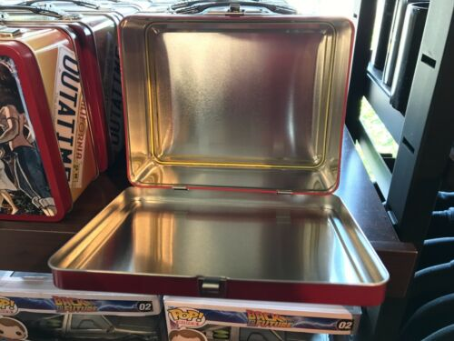 Universal Studios Exclusive Retro Back To The Future Metal Lunch Box New
