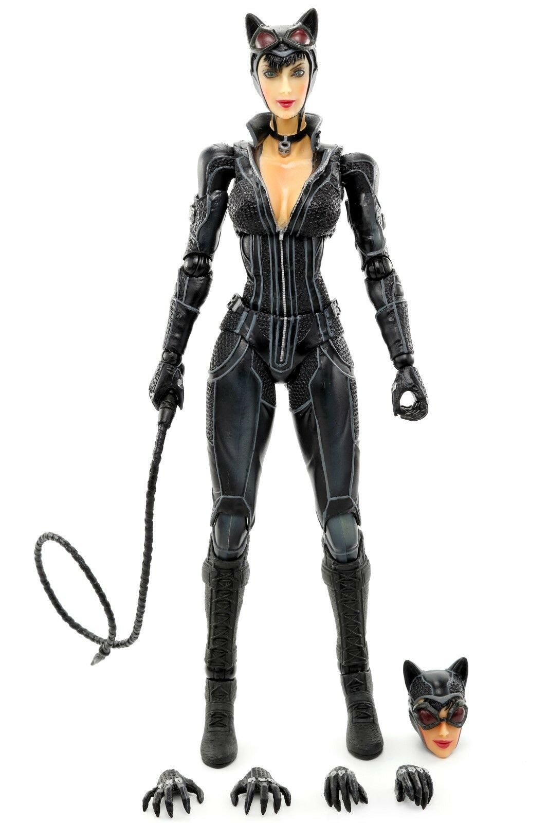 Play Arts Kai Batman Arkham City CATWOMAN 8.25  Action Figure