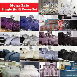 2-Pce-SINGLE-Quilt-Doona-Cover-Std-Pillowcase-CLEARANCE-MEGA-SALE-Limited-Time