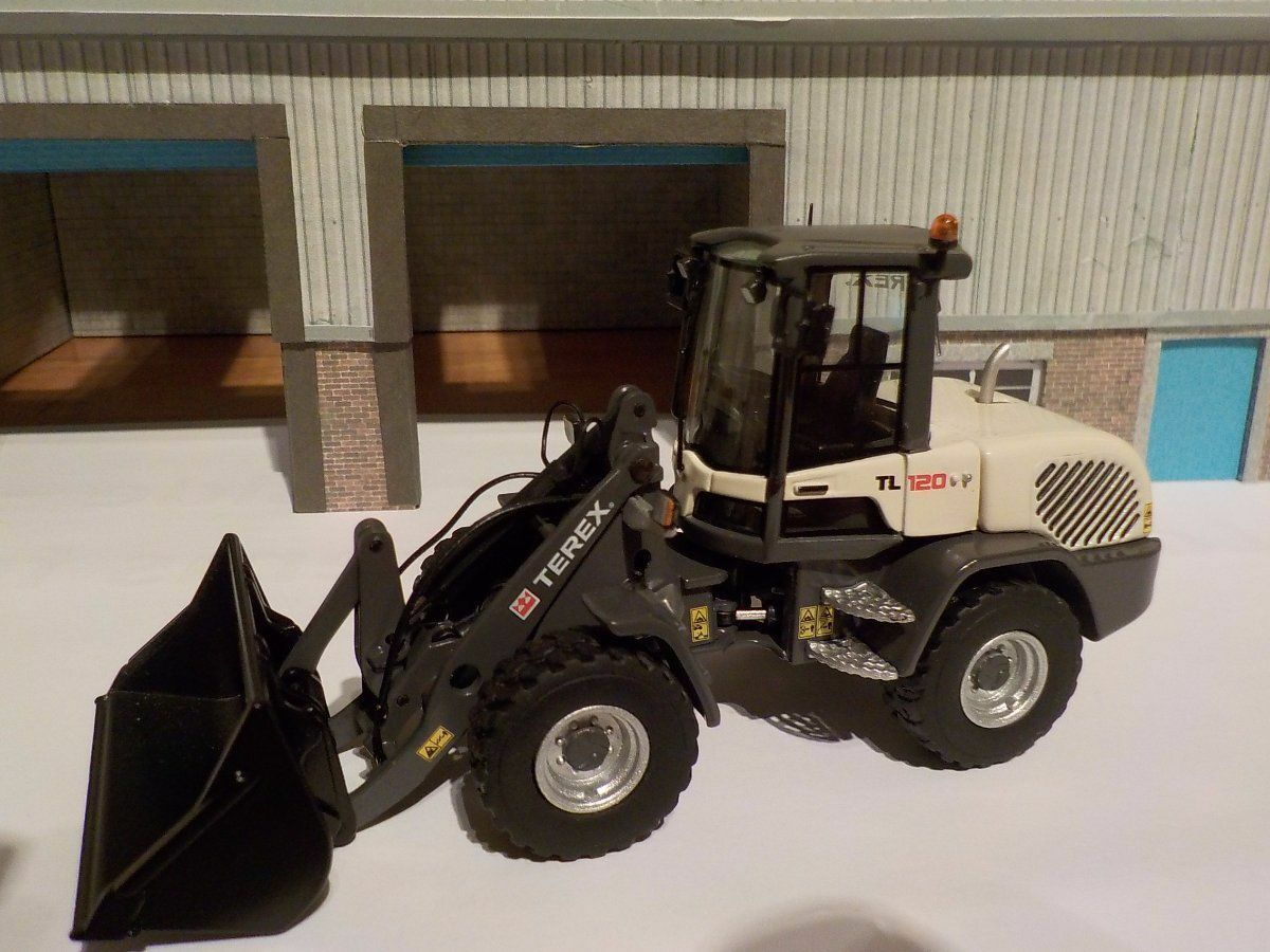 venta con alto descuento NZG 1 50 Terex TL120 TL120 TL120 Wheel Loader Construction    .99 New & Sealed  mejor marca
