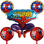 Spiderman-Birthday-Balloons-Party-Decorations-Foil-Bouquet-Avengers-Latex-Number thumbnail 5