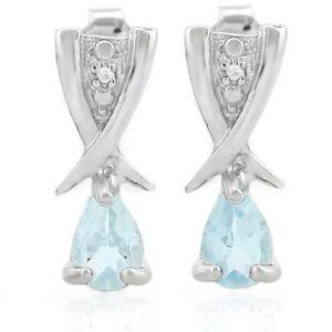 Ohrringe-Ohrstecker-Lucinda-925er-Silber-0-82-Kt-echter-Blautopas-Diamant