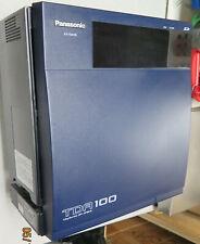 Panasonic Kx Tda100 Hybrid Ip Pbx Phone System With Dlc16 X3 Dhlc8 Lcot8 Pri23 Mpr