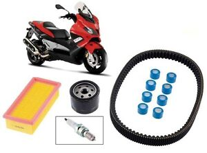 Pack-Revision-Courroie-Filtre-air-huile-Bougie-Galet-Gilera-Nexus-500-06-12