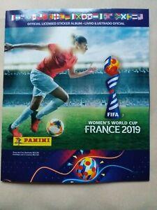 ALBUM PANINI WORLD CUP COUPE DU MONDE WOMEN FRANCE 2019 NEUF MINT FRENCH FREE