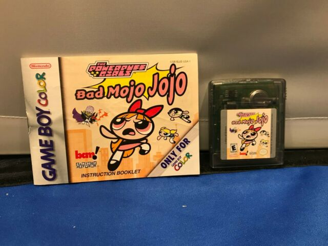 The Powerpuff Girls: Bad Mojo Jojo (Nintendo Game Boy Color) With Manual TESTED