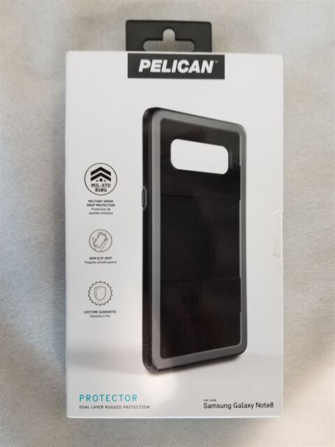 detailed look 816de f6c87 Pelican Protector Case Samsung Galaxy Note 8 Black