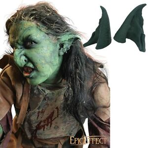 Details about Latex Prosthetic Orc Ears - Ideal For LARP / Costume / Prop  Use