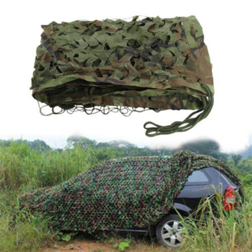Leaves Net Car 2mx3m Camo Army Netting Military Shade Woodland Shelter