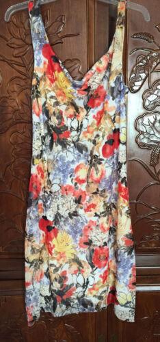 Vivienne Tam Asian Floral Mesh Dress SZ 3 = SZ 8