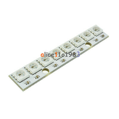 WS2812 WS 2811 5050 RGB LED Lamp Panel Module 5V 8-Bit Rainbow LED Precise 8 Bit 5050 Full Color Led Module 5050/RGB/LED/Lamp/Panel/Module/5V/8-Bit