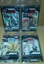 4 Figure Star Wars Original Trilogy Collection Saga ESB ROTJ Han Biker Scout Lot