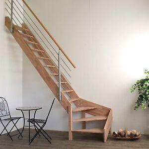 raumspartreppe rhodos 1 4 gewendelt links design gel nder beidseitig montierbar ebay. Black Bedroom Furniture Sets. Home Design Ideas