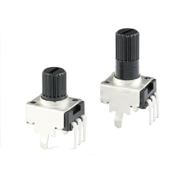 10pcs RV09 Vertical Potentiometer Shaft 12.5mm 1K 2K 50K 100K Long Handle 0931