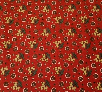Heritage Red and Green BTY Judie Rothermel Marcus Civil War Christmas