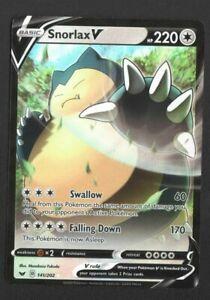 Snorlax V 141/202 - Sword & Shield Full Art Ultra Rare Pokémon Card